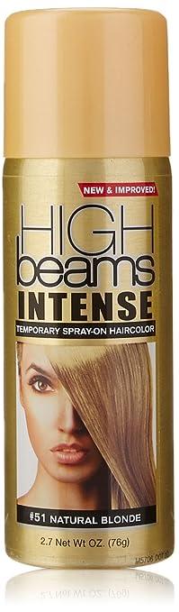 Amazon.com : high beams Intense Temporary Spray on Hair Color ...