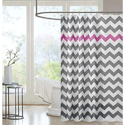 PICURA Purple Shower Curtain Liner Waterproof Mildew Resistant Washable Polyster With