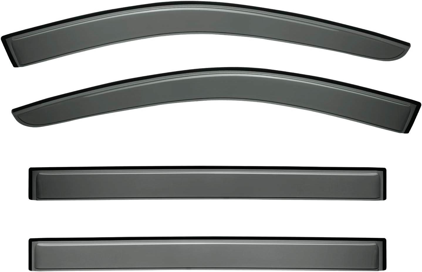 Auto Ventshade 94281 Original Ventvisor Window Deflector 4 Piece