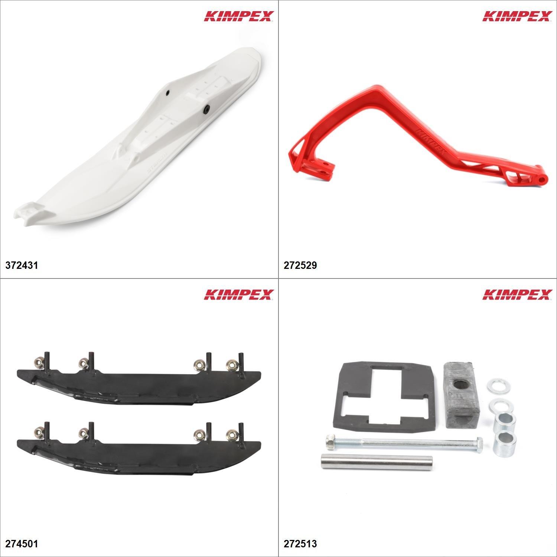 Kimpex - Ski Stealth Kit - White, Polaris Sport 2004