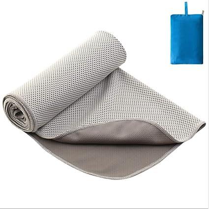 FELICIPP Cold Feelong Deportes Toalla Verano Color sólido Yoga al Aire Libre Mantel Microfibra Estera de