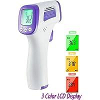 Termómetro infrarrojo médico sin contacto con lecturas digitales