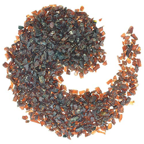 Digging Dolls: Garnet Chips - 1/4 lb of Mini Tumbled Stones - Perfect for Jewlery Making, Crafts, Art, Aquariums and Much More!