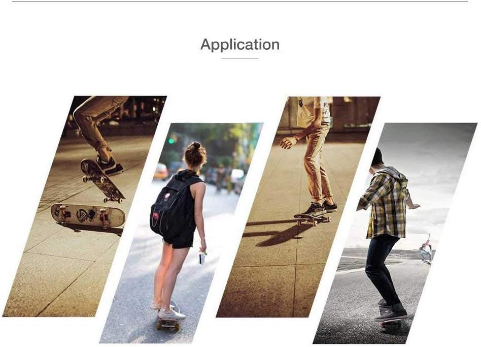 HHUMR Skateboard pour Adultes pour D/ébutants Et Professionnels Planche Compl/ète avec Pont en /Érable Dur /À 7 Couches ABEC-7