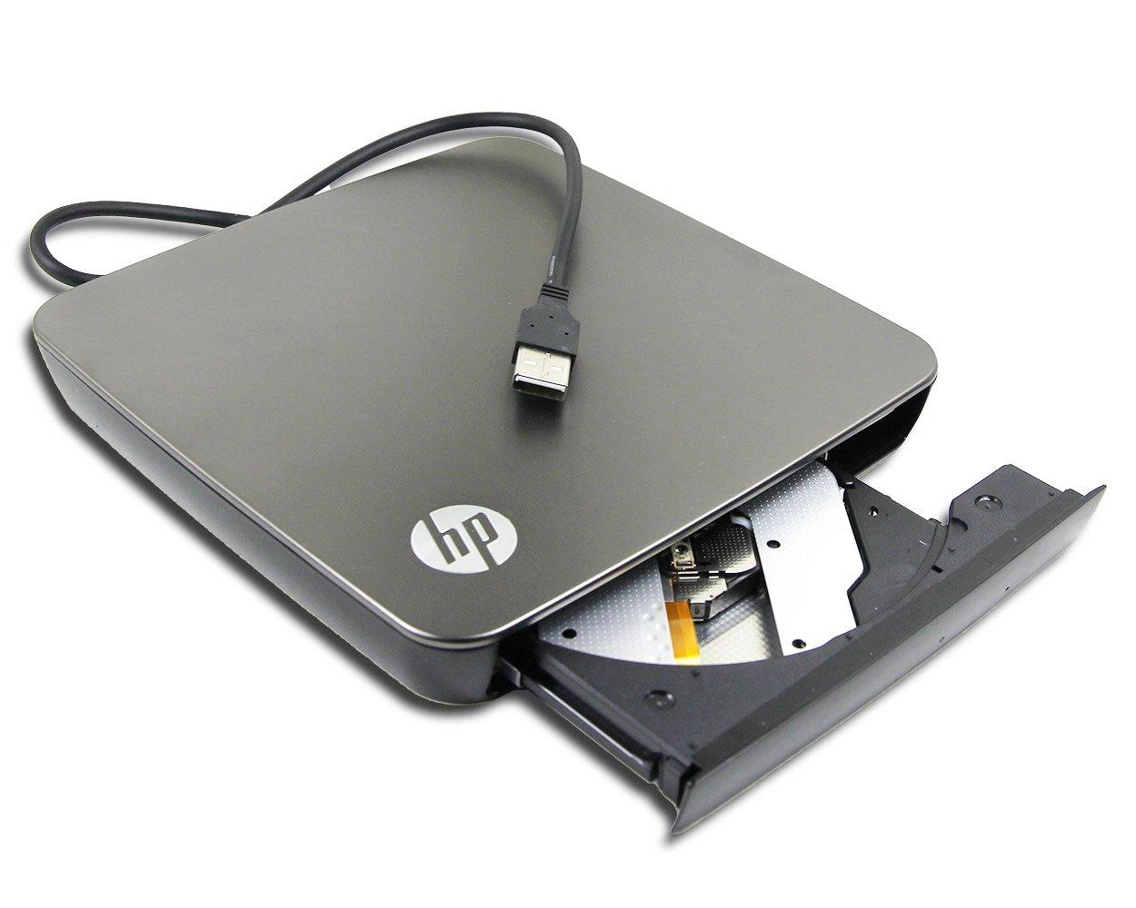 100% Original for HP Pavilion Envy 13 14 15 15t 15z X2 ProBook Laptop External USB 2.0 LightSrcibe Dual Layer 8X DVD+-RW DL DVD-RAM Burner 24X CD-RW Writer Portable Optical Drive