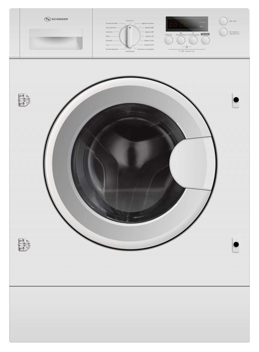 Lavadora integrable Schneider SLA 7145 IN clase A+++ 7kg ...