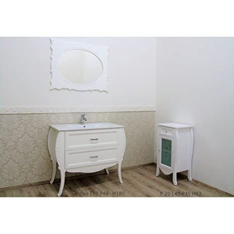 Mobili per bagno amazon great mobile bagno bianco economico da cm lavabo specchio e luce with - Accessori bagno plexiglass amazon ...