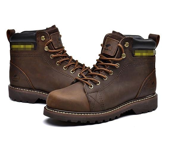 b878c8dcde97b5 LEDLFIE Herren Stiefel Martin Stiefel Hallo-Top Herrenschuhe Schnürsenkel   Amazon.de  Schuhe   Handtaschen