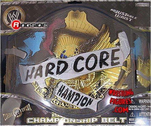 HARDCORE CHAMPIONSHIP KID SIZE TOY WWE WRESTLING BELT by Jakks