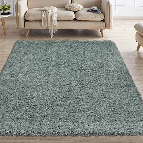 - Ottomanson Flokati Collection Faux Sheepskin Shag Area Rug, 5'3