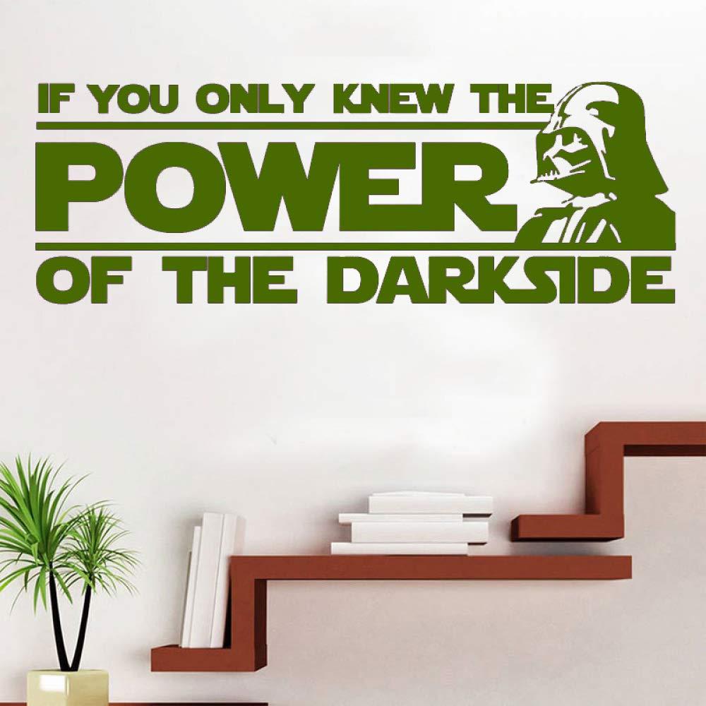 xingbuxin Vinilo Art Design Etiqueta de la Pared Darth Vader ...