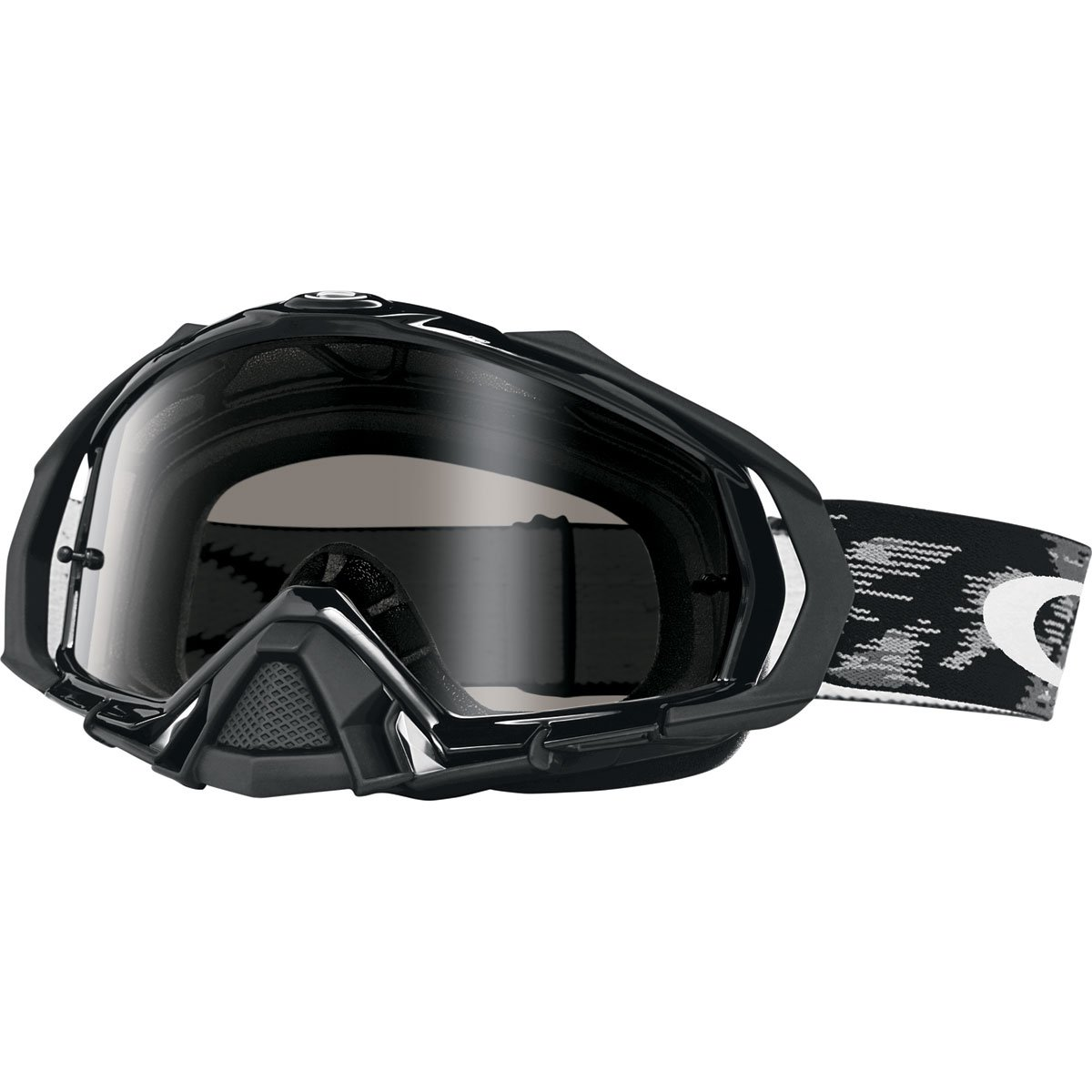 Oakley Mayhem Pro Men's Sand Goggles (Jet Black Frame/Dark Grey Lens)