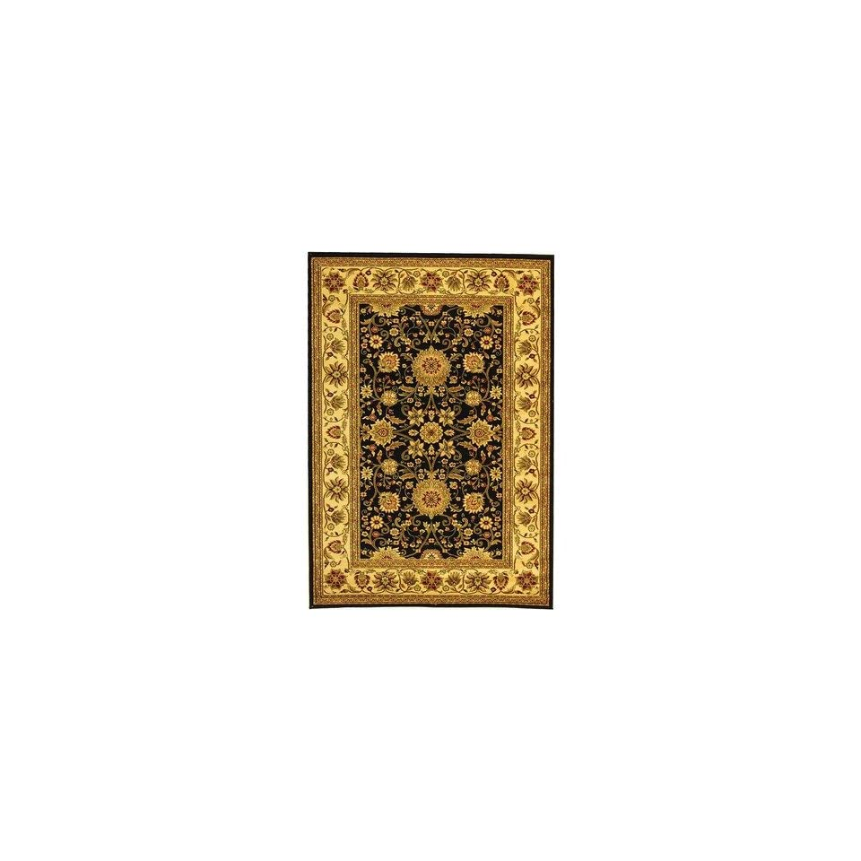Safavieh Lyndhurst Collection LNH212A Traditional Oriental Black and Ivory Runner (23 x 12)