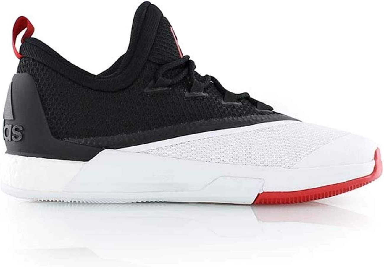 adidas Crazylight Boost 2.5 Lo BlackScarlet Basketball Shoes (B42728)