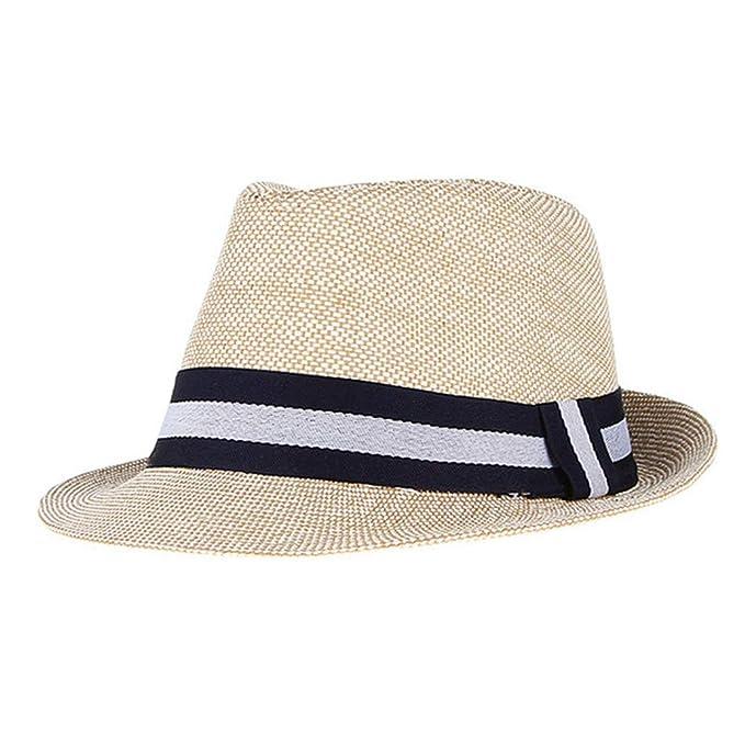 0846ad376b5e August Jim Sombreros de Paja Hombre Verano Exteriores, Playa, Jazz ...
