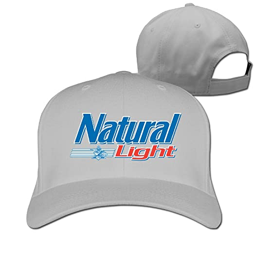 amazon com adult natural light logo adjustable baseball cap rh amazon com natural light logo history natural light beer logo vector