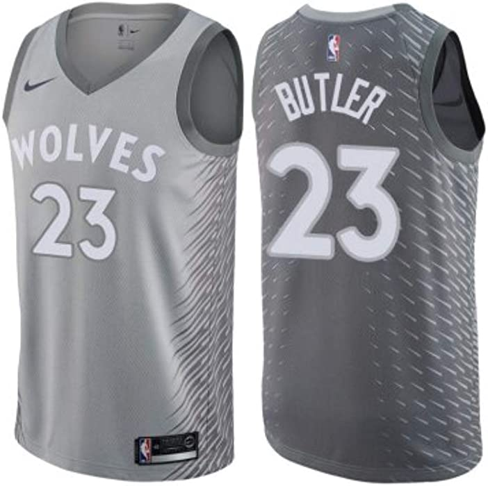 Nike Jimmy Butler Minnesota Timberwolves Silver Swingman City Edition  Jersey - Men s 2XL (XX- 620cb93d8