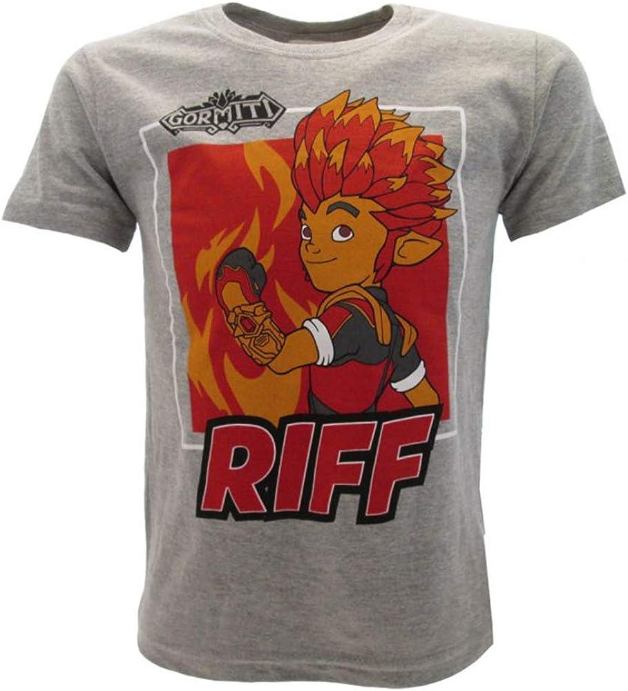 Sabor srl camiseta Gormiti original Riff gris algodón 100% niño ...