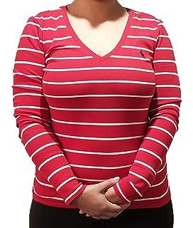 1962b971275361 Amazon.com  LAUREN RALPH LAUREN Womens Ordisty Sheer Printed Blouse ...