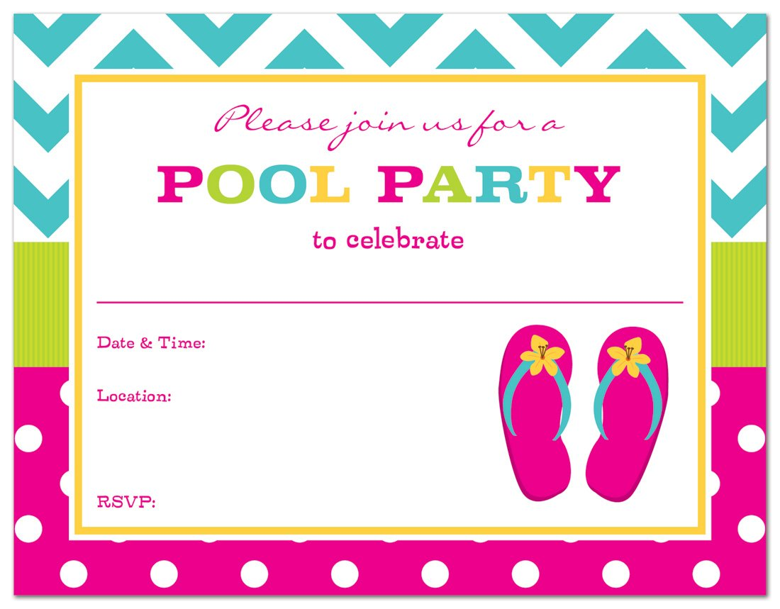Pink Party Invitations Image collections - Party Invitations Ideas