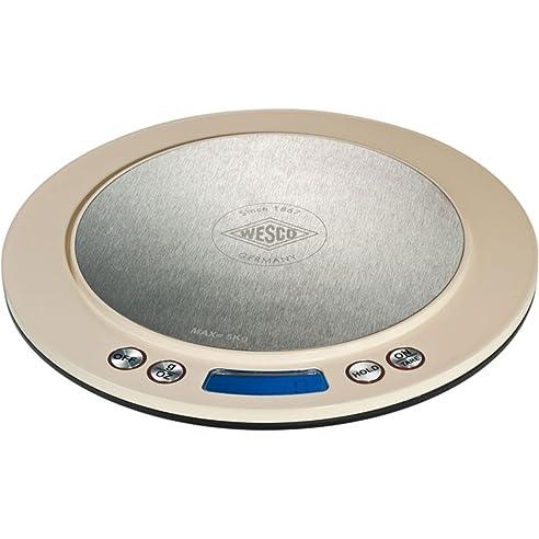 wesco 322 251 23 digital waage mandel küche haushalt