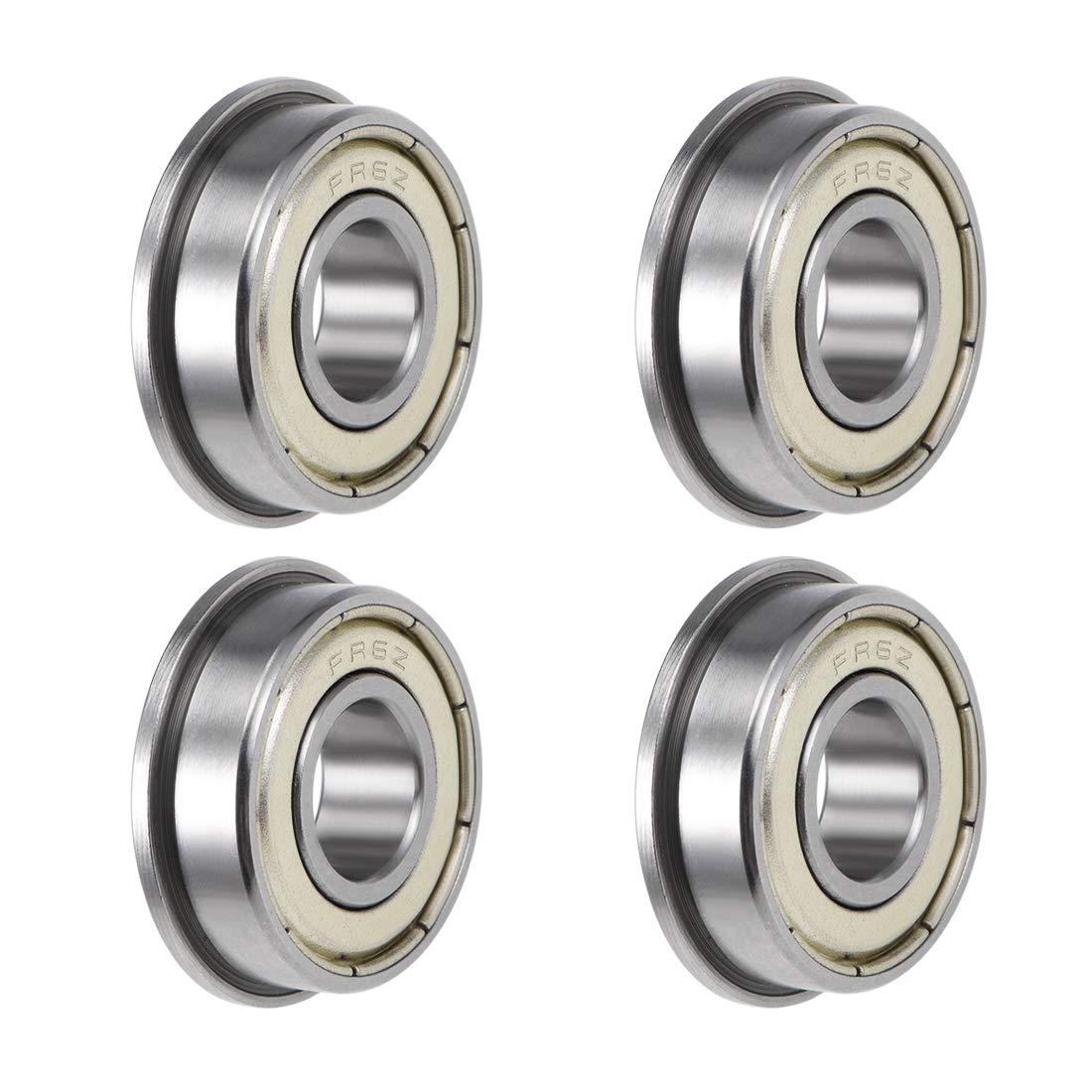 10 pcs R6 ZZ C3 metal shielded ball bearing 3//8x 7//8x 9//32 inch