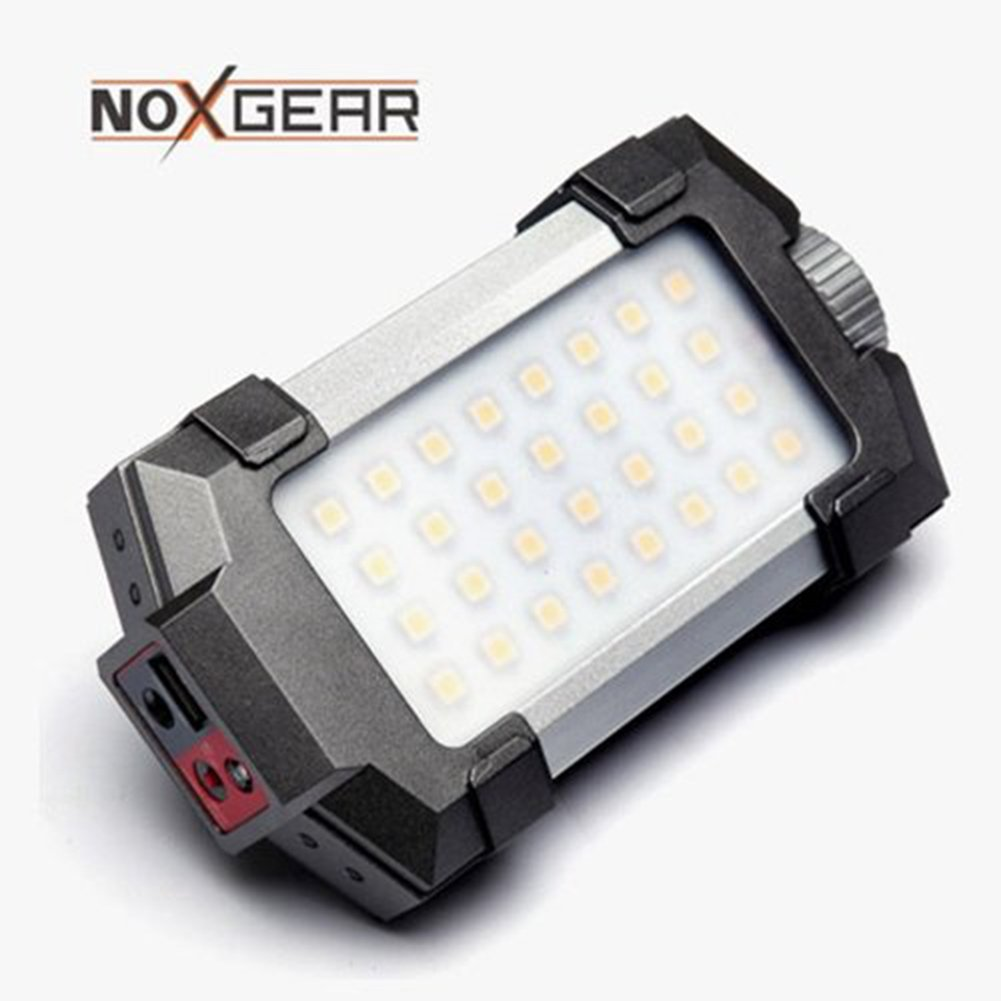 NOXGEAR 4 NL-1000 LED Outdoor Lamp Lantern Wireless Portable Rechargeable