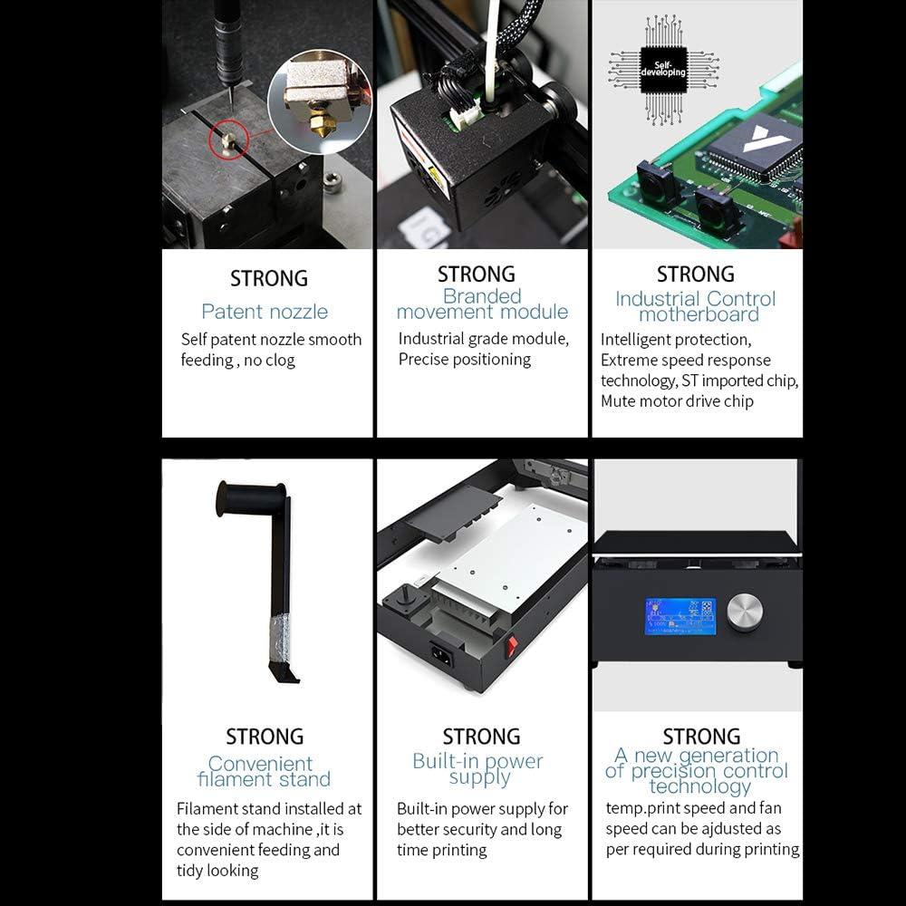Aibecy JG MAKER Impresora 3D de alta precisión Magic Desktop Kit ...