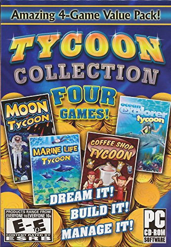 Tycoon Collection (Includes: Moon Tycoon, Marine Life, Coffee Shop and Ocean Explorer - Mall Minnesota Of Store America