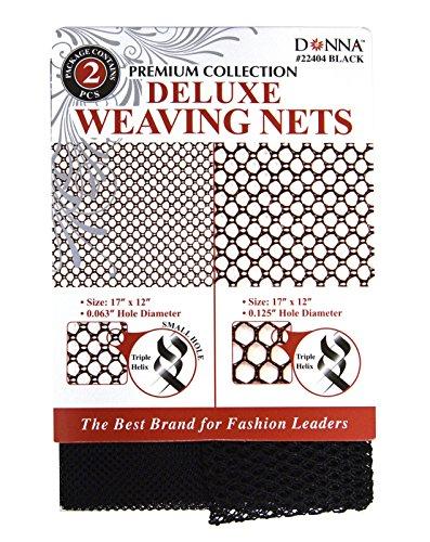Donna Premium Collection Weaving Net Black 2 pieces per pack 22404