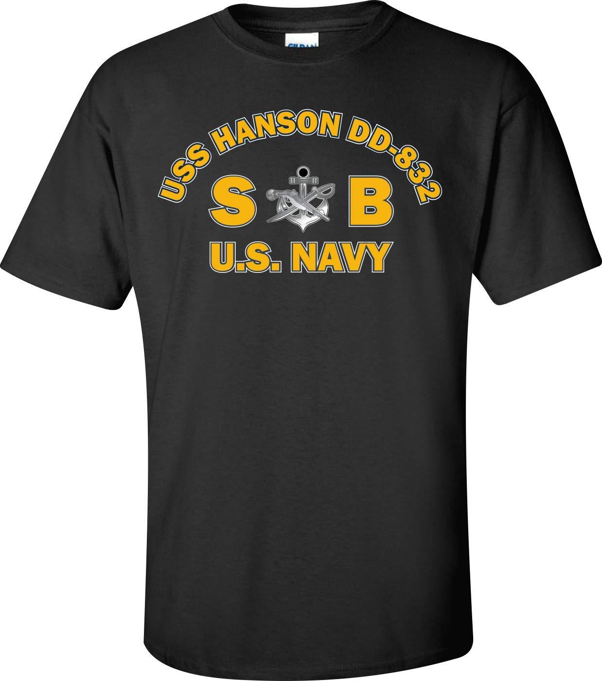 USS Hanson DD-832 Rate SB Special Warfare Boat Operator Black by Generic