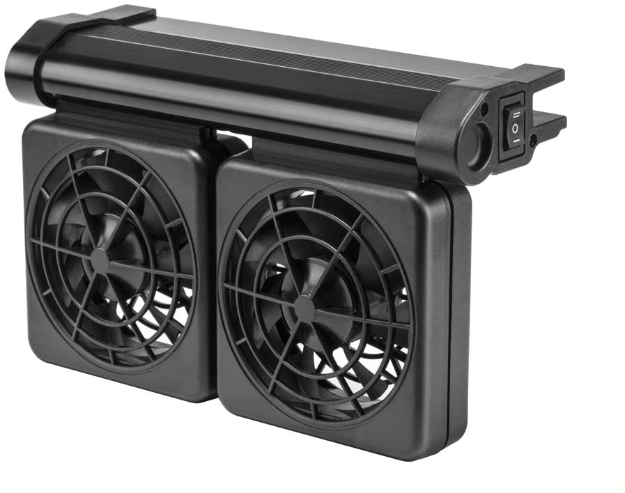 DaToo Aquarium Chiller Fish Tank Fan Aquarium Cooling Fan, 1 Yr Warranty