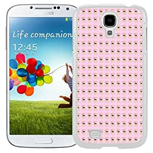 Beautiful Unique Designed Cover Case For Samsung Galaxy S4 I9500 i337 M919 i545 r970 l720 With Toast Pattern White Phone Case