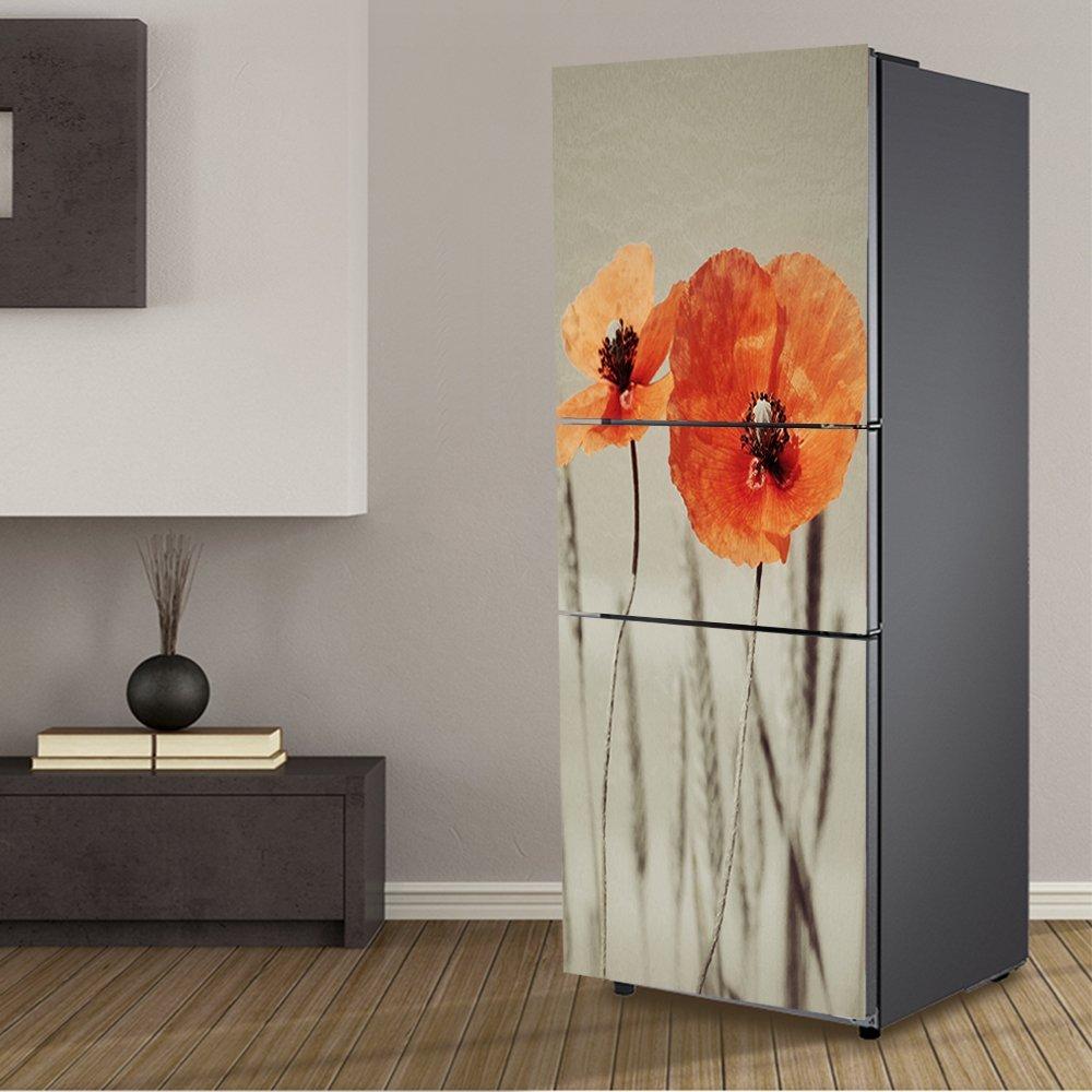yazi Paster Flower Painting Self-adhensive Mosaic Refrigerator Stickers