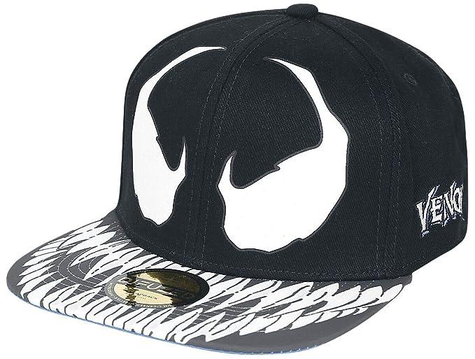 Black SB030330SPN MARVEL COMICS Spider-man Venom Snapback Baseball Cap
