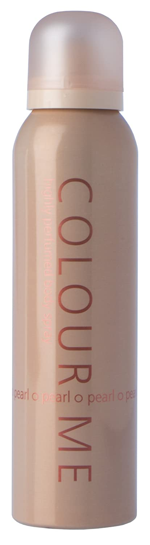 Milton-Lloyd Colour Me Highly Perfumed Body Spray, Pearl 150 ml Milton-Lloyd Ltd 01C1CFPL