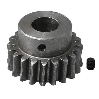 Mxfans 1 2cm Hole Diameter 45# Steel Worm Gear Wheel Reduction Worm