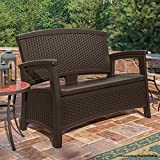 Suncast Elements Loveseat with Storage
