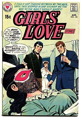GIRLS' LOVE STORIES #153 masked disfigured woman cover wild dc romance