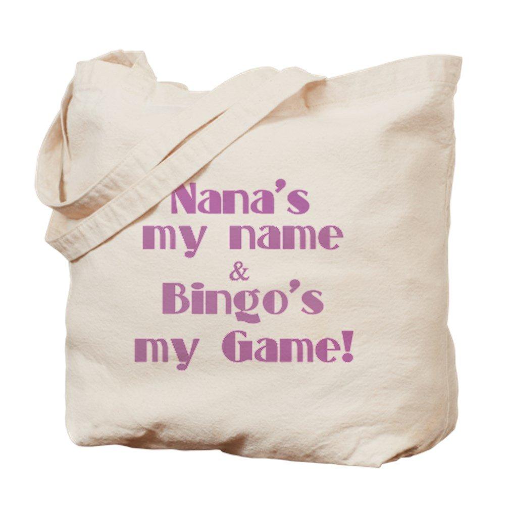 CafePress - Nana And Bingo - Natural Canvas Tote Bag, Cloth Shopping Bag