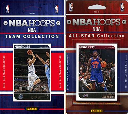 (NBA Dallas Mavericks Licensed 2014-15 Hoops Team Plus All-Star Set, Brown, One Size )