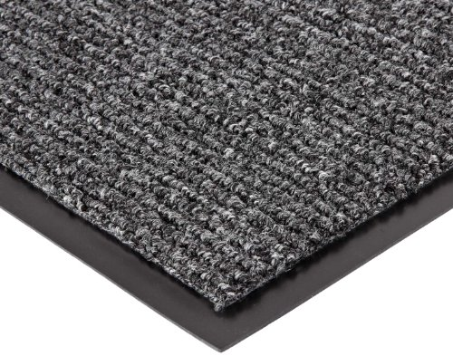 Notrax 132 Estes Entrance Mat, for Main Entranceways and Heavy Traffic Areas, 4' Width x 6' Length x 3/8