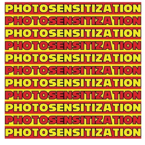 Review Color Vocabulary: PHOTOSENSITIZATION to