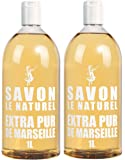 Savon Le Naturel - Extra Pur de Marseille Recharge Universelle - 1 L - Lot 2