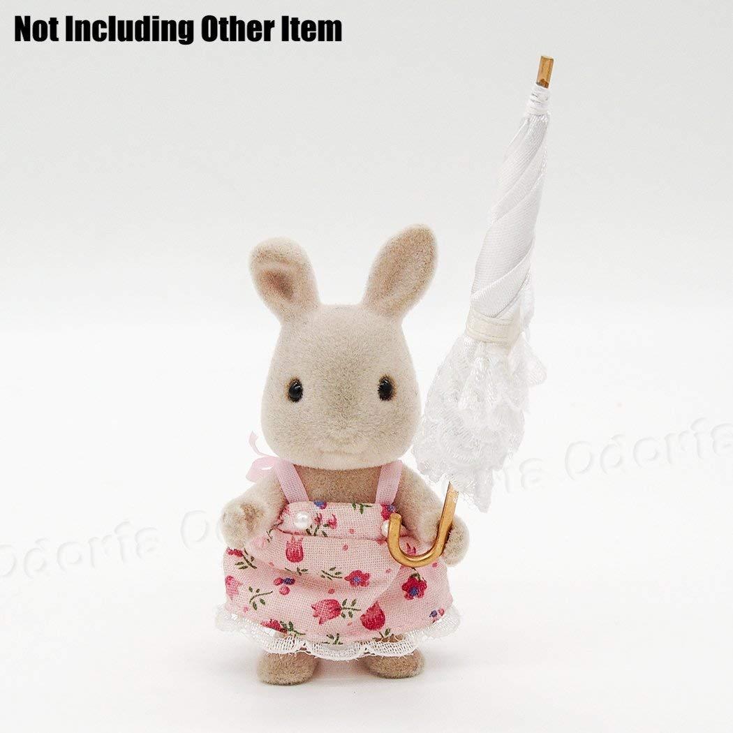 Odoria 1:12 Miniature Lady Dentelle Parasol Ombrelle D/écoration de Maison de Poup/ée