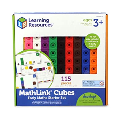 Learning Resources Mathlink Cubes Activity Set: Toys & Games