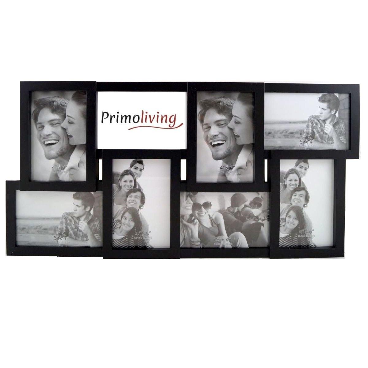 PrimoLiving 8 Fotos Bildergalerie schwarz 10 x 15 cm P-1050 (71495 ...