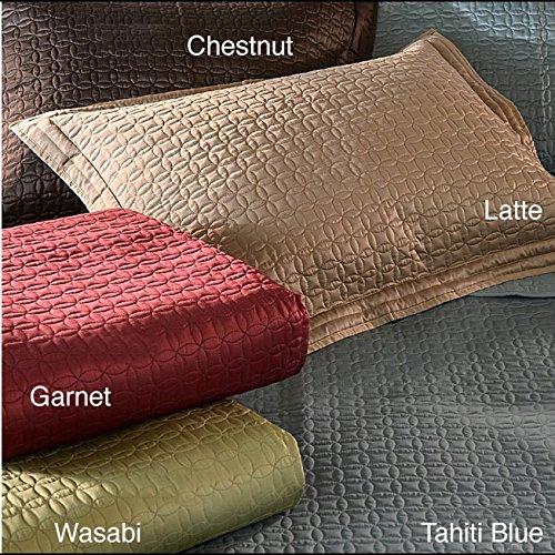 Epoch Hometex, Inc. Quilted Coin 3-piece Quilt Bedding Set Garnet Queen, Full - Queen, Full