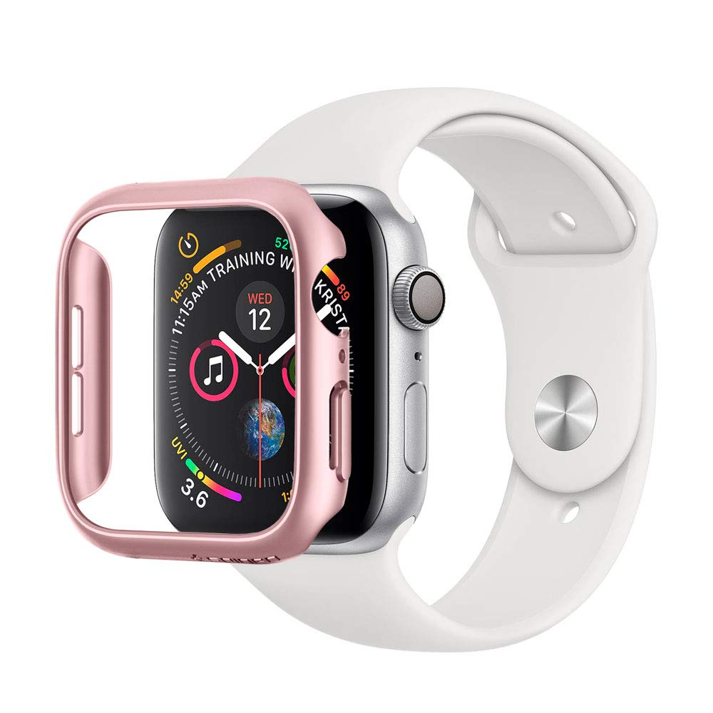 Spigen Thin Fit Designed for Apple Watch Case for 44mm Series 4 (2018) - Rose Gold