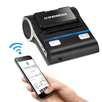 E-INCOPAY - Mini Impresora térmica portátil inalámbrica Bluetooth ...